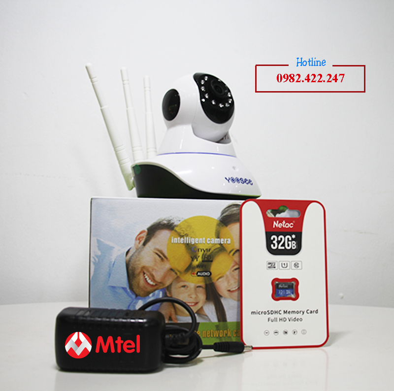 Camera Yoosee 3 Râu Full Hd 1080P