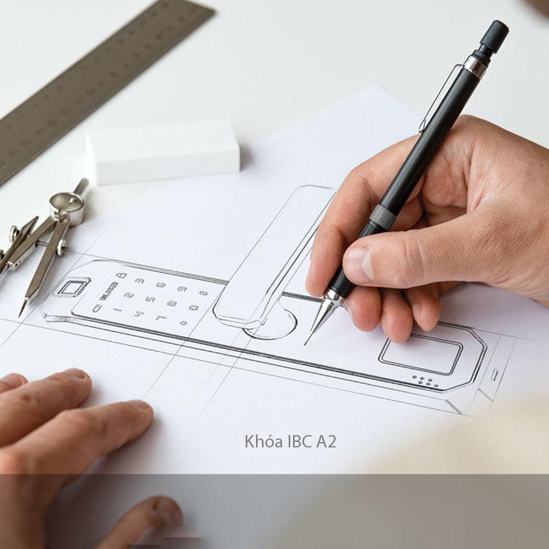Thiết kế khóa cửa IBC A2
